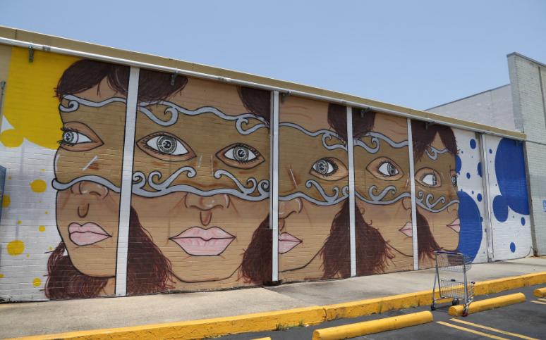 Breaux Mart Mural